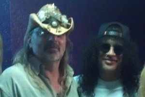 Alan Niven and Slash
