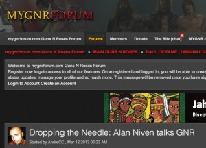 Alan Niven Answers Your Questions